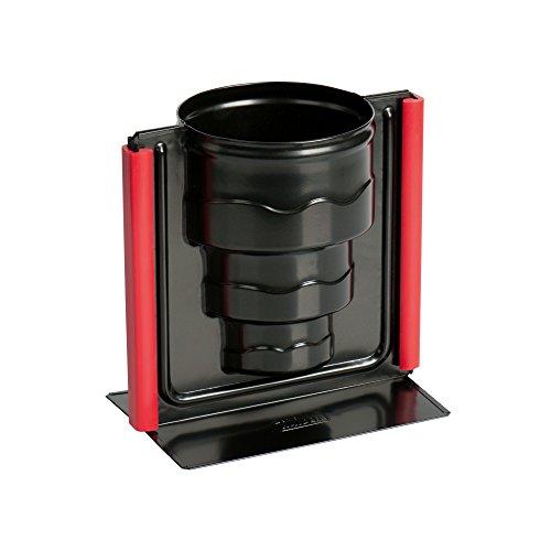 Kaiser Inspiration 3D Vollbackform Torte 17 x 10 x 16 cm antihaftbeschichtet Auslaufschutz Silikonklammern gleichmäßige Bräunung