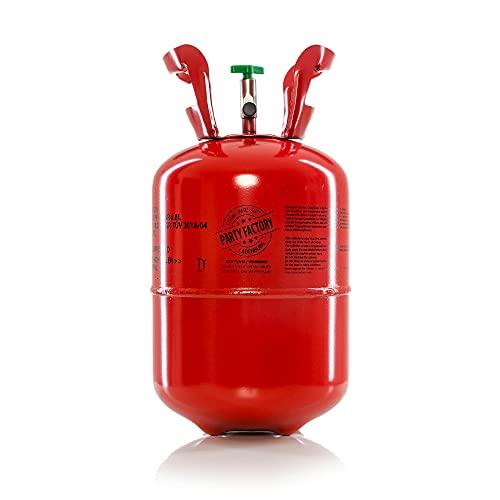 Helium in Metall-Einwegflasche