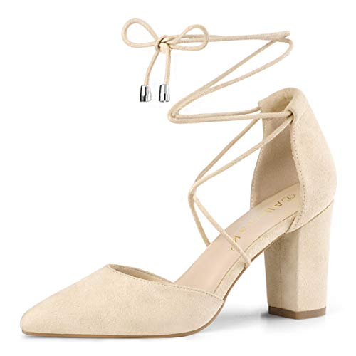 Braut-High-Heels in Beige