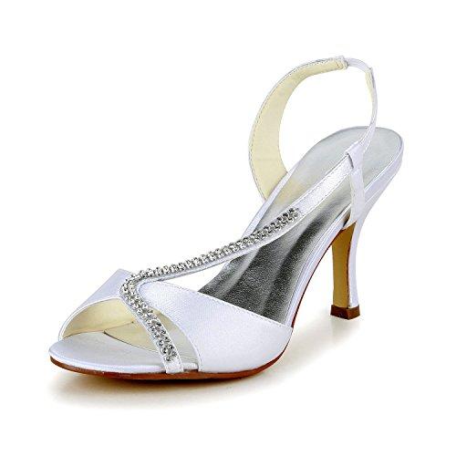 Brautschuhe Sandalen mit Strassriemchen