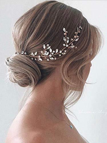 Haarkranz mit Perlen für die Brautn