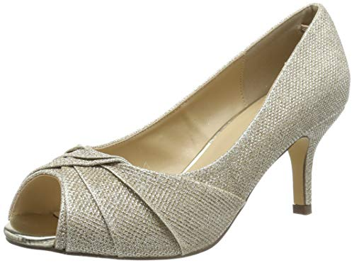 Braut-Peeptoe-Pumps