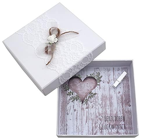 Vintage Geldgeschenk-Box zur Hochzeit