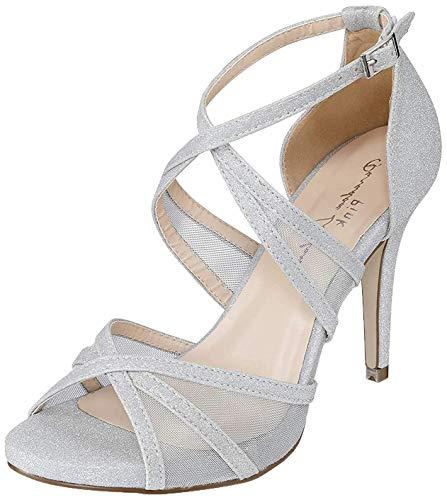 Braut-Sandalen mit Strass