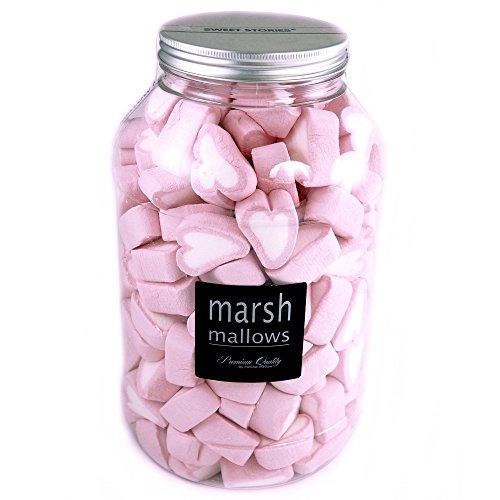 Marshmallows Rosa Herzen