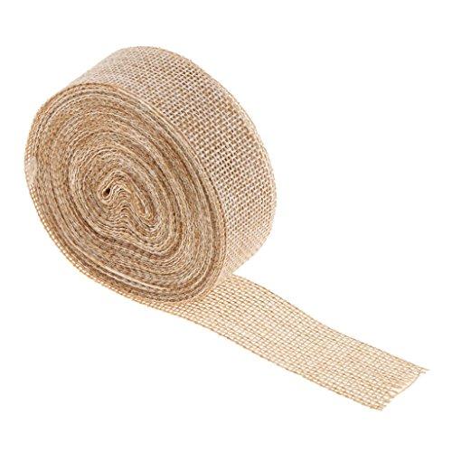Jute-Schleifenband zum Autoschleifen basteln