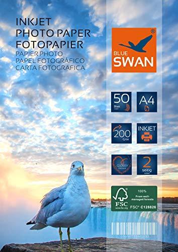 Beidseitig bedruckbares Fotopapier in 200 g-Qualität