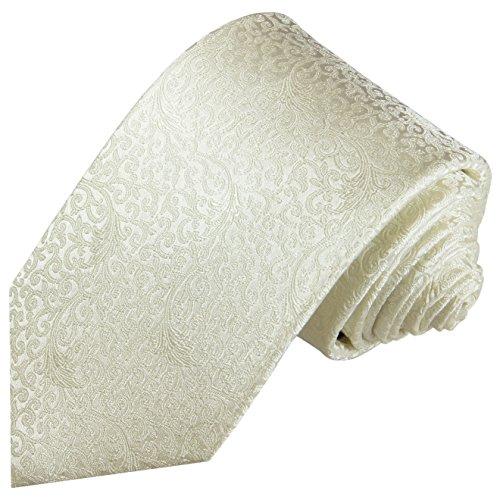 elegante Seiden-Krawatte und Einstecktuch zur Hochzeit