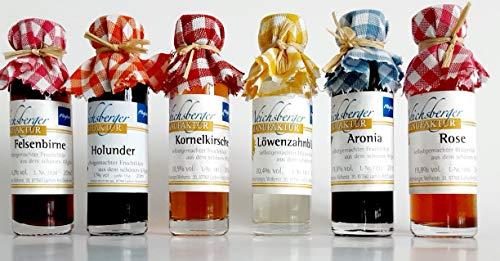 6 Liköre aus der Weichsberger Manufaktur