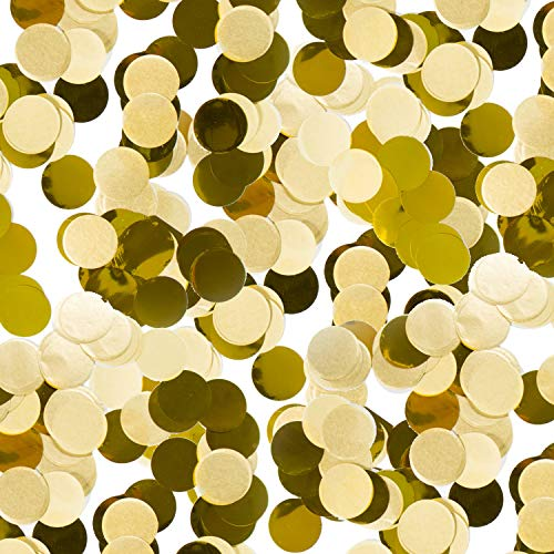 300-teiliges goldenes Konfetti