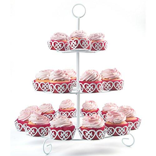 Verspielte Candy Bar Etagere für Cupcakes