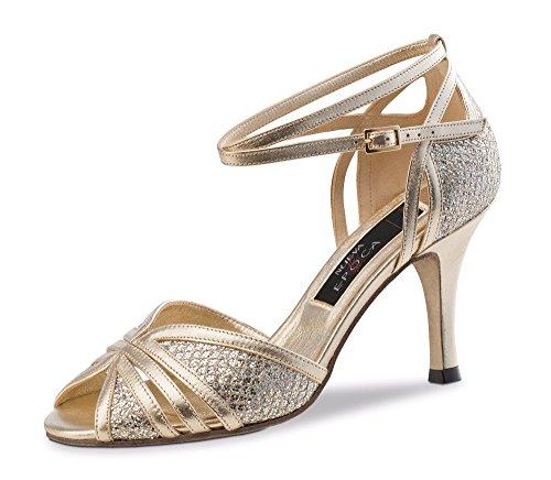 Goldene Braut-Stilettos