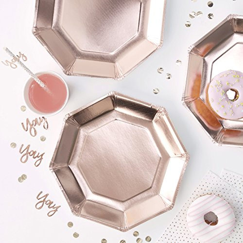 8 coole metallic Teller