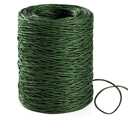 Grüner Papierdraht