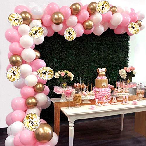 Ballon-Girlande für das Snack-Buffet