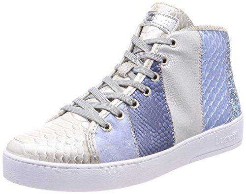 Hohe Braut-Sneaker in Rosa