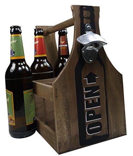 Männerhandtasche für 6 Bierflaschen