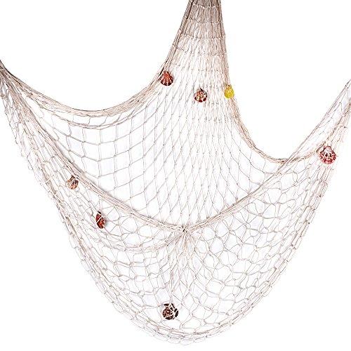 Cooles Fischernetz zur maritimen JGA Deko
