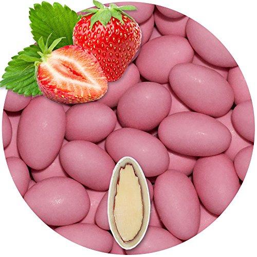 Hochzeitsmandeln Erdbeere