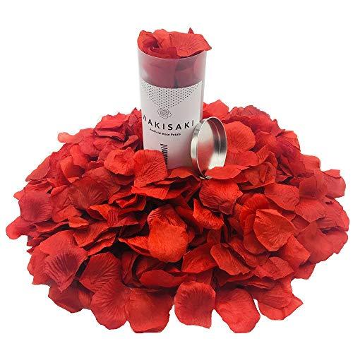 Seidenblumen-Rosenblätter