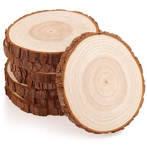 Holzscheiben rund
