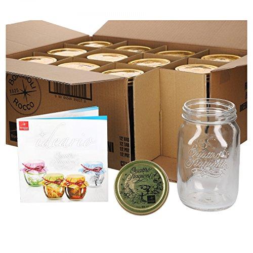 Gläser für die DIY Backmischung DIY 1,0 Liter