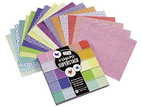 180 Bögen Origamipapier doppelseitig bedruckt