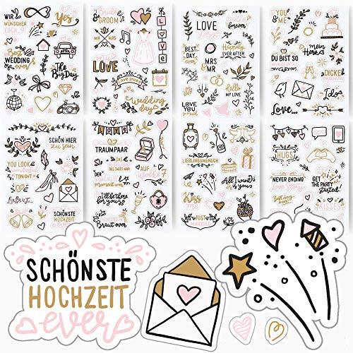Sticker für das Gästebuch