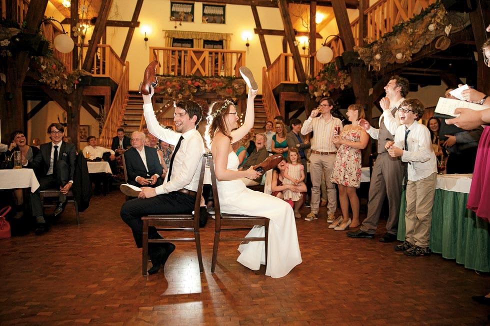 Schuhespiel Hochzeit
