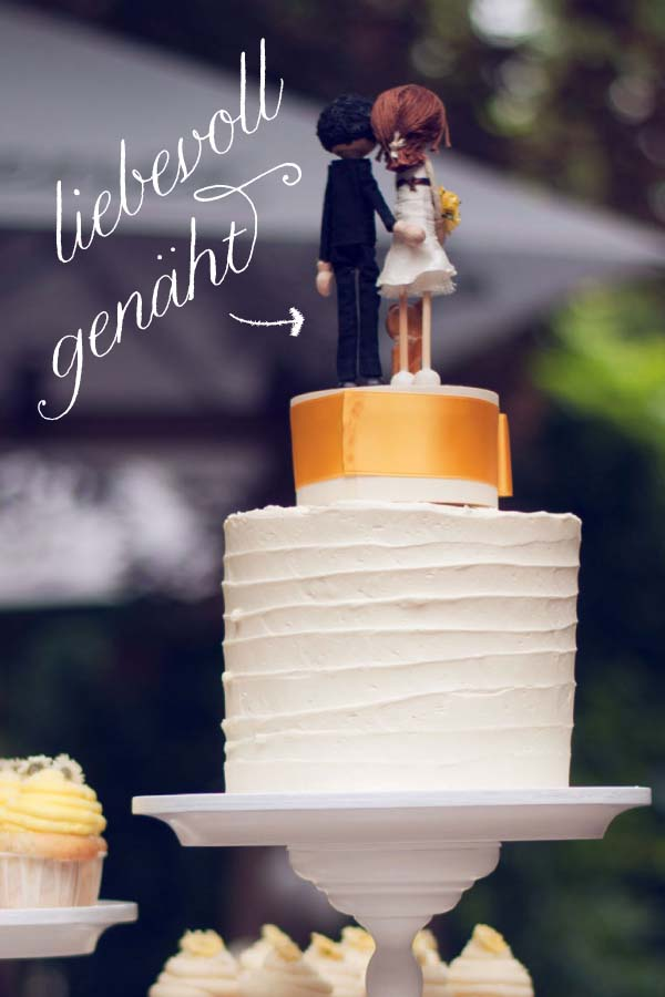 Individuelle Tortenfiguren für eure Hochzeitstorte