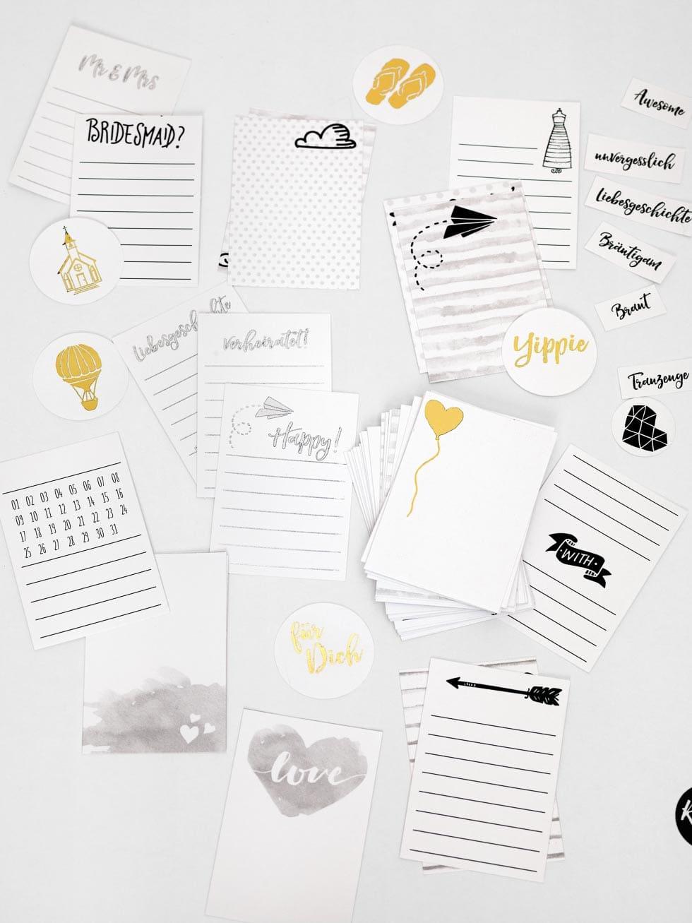 Karten Hochzeitsalbum