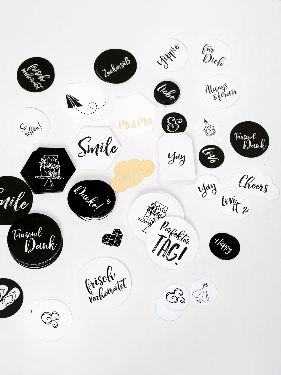 Sticker Hochzeitsalbum
