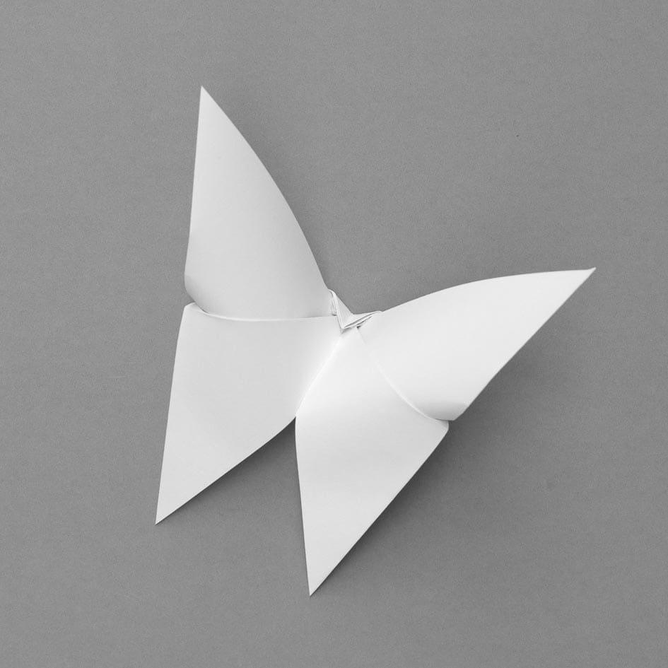 Papier-Schmetterling