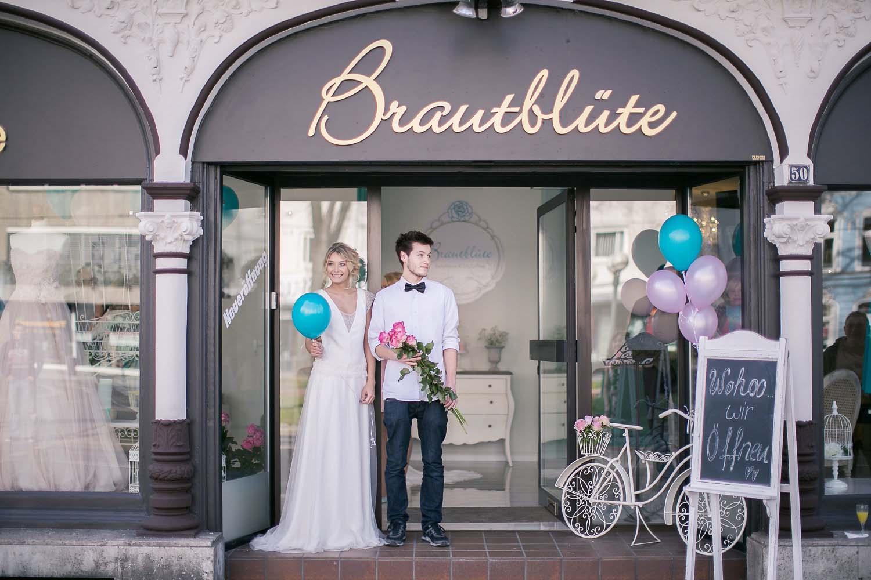 "Brautmodengeschäft ""Brautblüte"" in Krefeld"