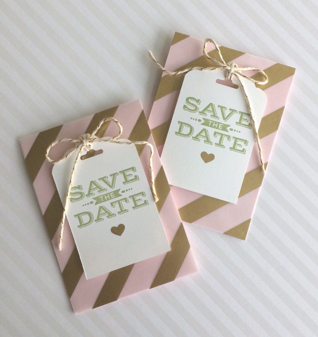 Save the Date Hochzeit DIY