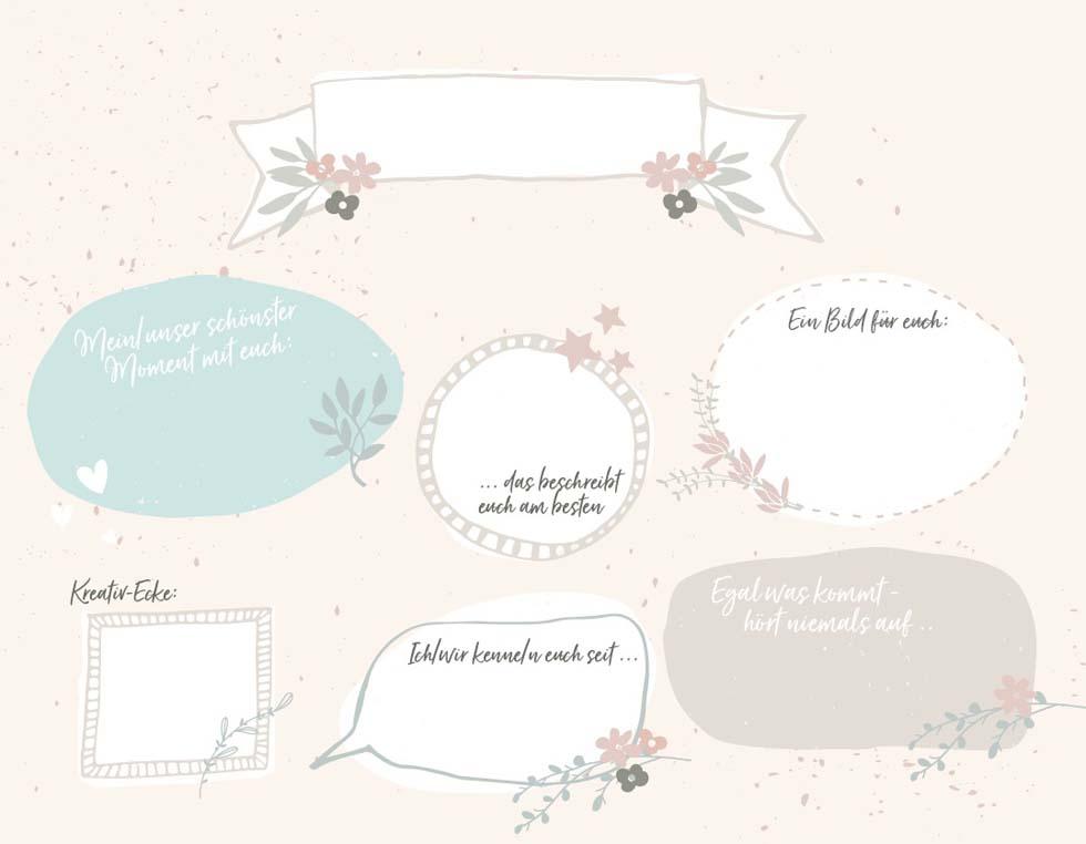 Gästebuch Hochzeit Vorlage 2