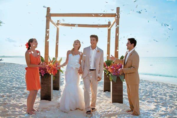 Hochzeit und Flitterwochen in der Karibik