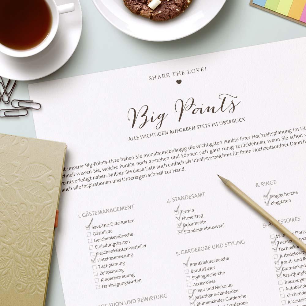 Checkliste Hochzeit So Einfach Kann Hochzeit Planen Sein
