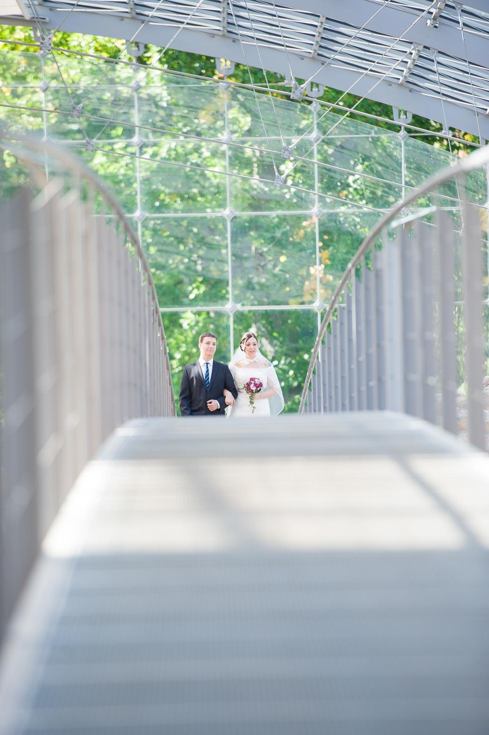 Hochzeit in der römischen Badruine von Tobias Förster
