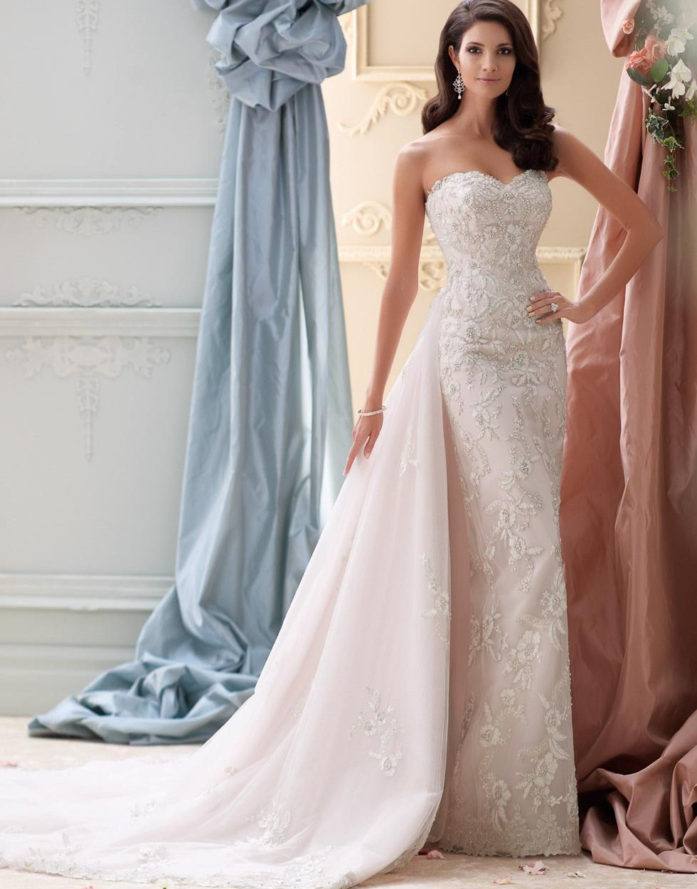 Brautkleidkollektion von David Tutera/Mon Cheri Bridals bei www.weddingstyle.de