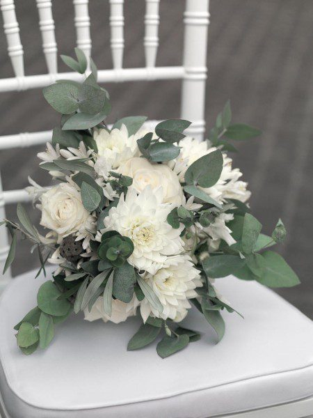Brautstrauß Winterhochzeit
