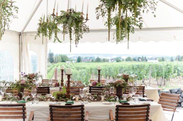 Hochzeit planen mit weddingstyle - Zelt deko hochzeit ...