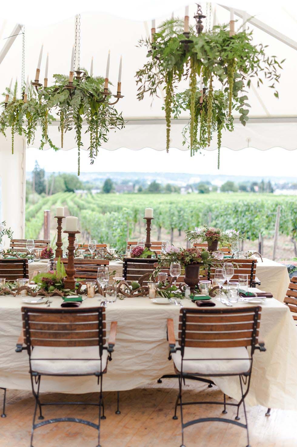 Tischdekoration bei www.weddingstyle.de | Foto: von [blickfang] Event Design