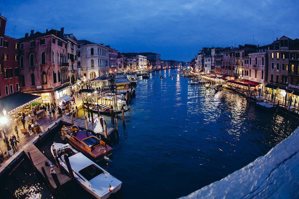 Shooting in Venedig von Irina Lackmann