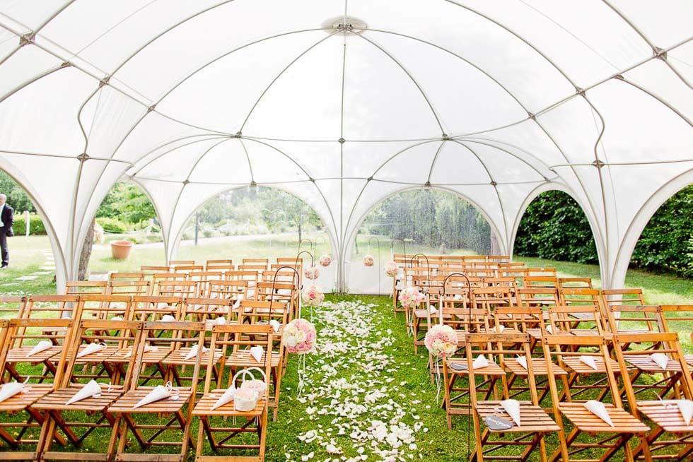 Kuppelzelt Hochzeitszelt