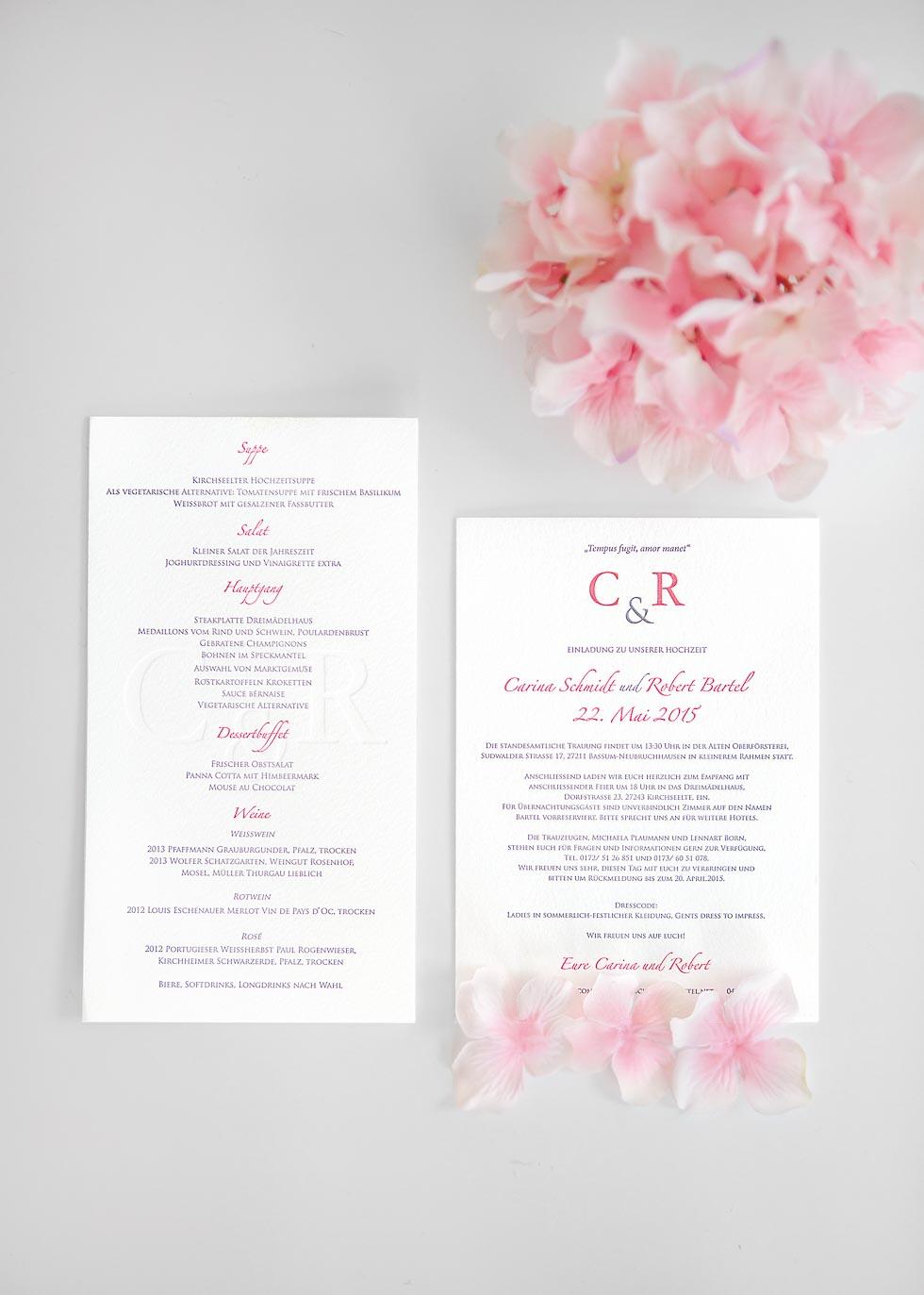 Hochzeitspapeterie: Tipps und Ideen – Hochzeit planen mit weddingstyle