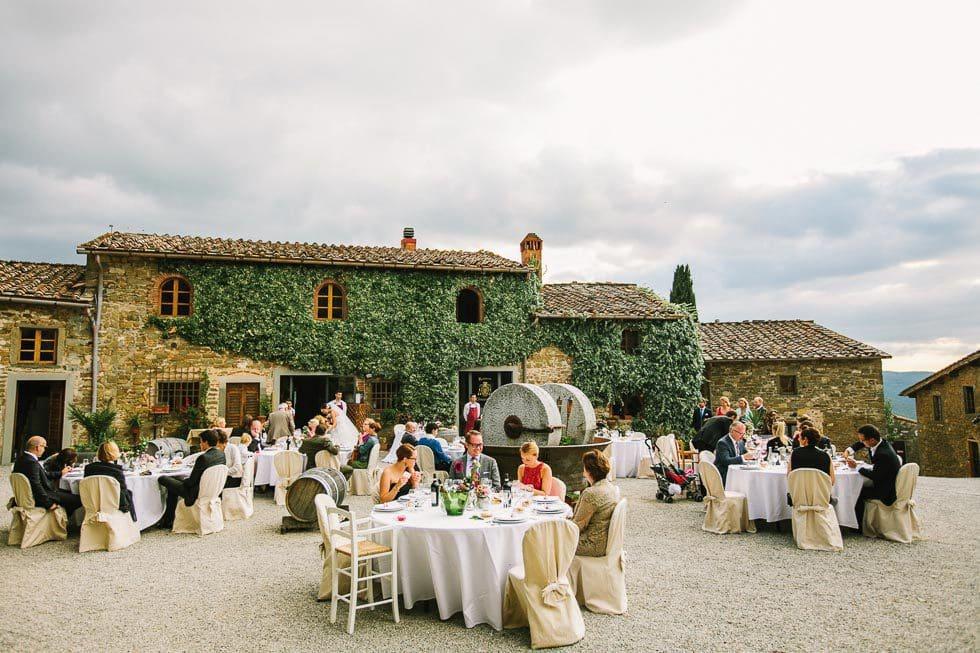 Hochzeit im Agriturismo Borgo Castelvecchi von Julian Kanz