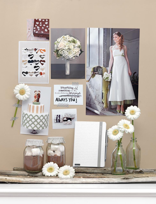 Natürliches Hochzeitskonzept
