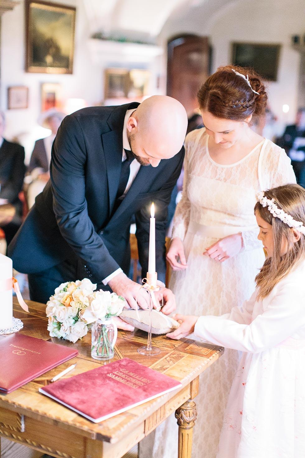 Hochzeit im Schloss Mühlbach am Manhartsberg von Bridelights Photography