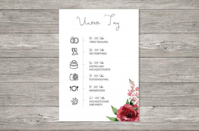 Liebe-ist-Heiraten Papeterie
